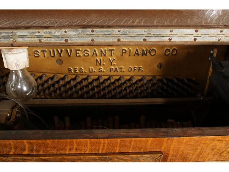 Antique Nickelodeon by Stuyvesant Piano Company, NY 6