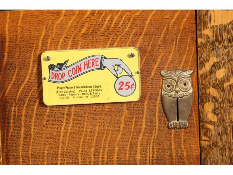 Antique Nickelodeon by Stuyvesant Piano Company, NY 10