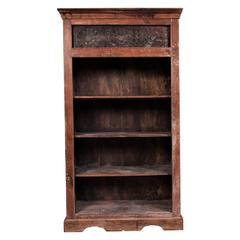 Antique Bookcase Cabinet