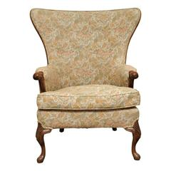 Large Frame Wing Back Chair