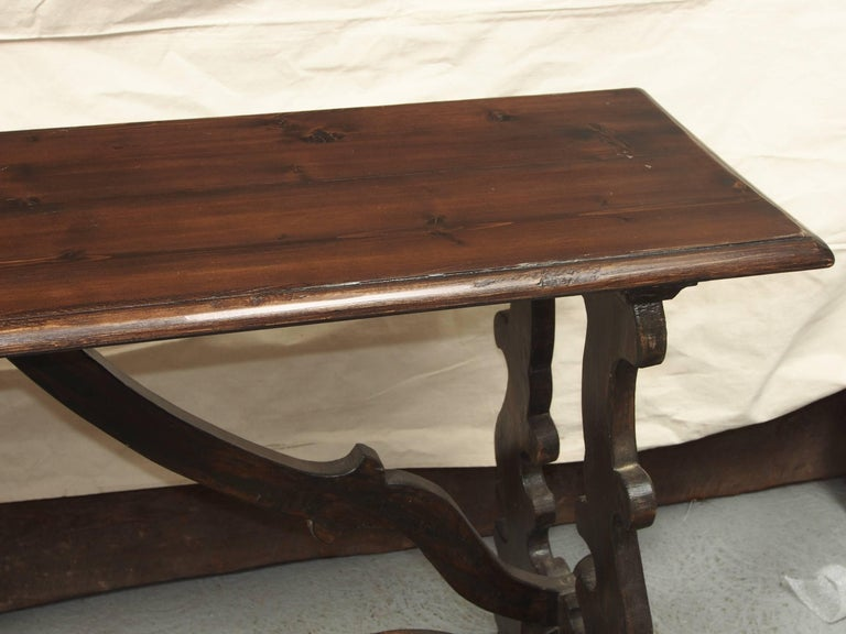 Pleasing Antique Jacobean Style Pine Console Table At 1Stdibs Ibusinesslaw Wood Chair Design Ideas Ibusinesslaworg