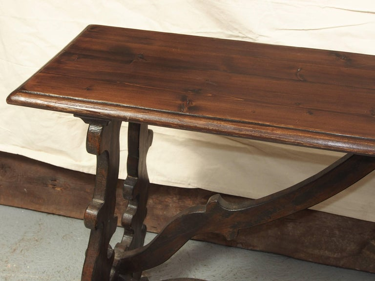 Brilliant Antique Jacobean Style Pine Console Table At 1Stdibs Ibusinesslaw Wood Chair Design Ideas Ibusinesslaworg