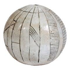 Art Pottery Spherical Vase