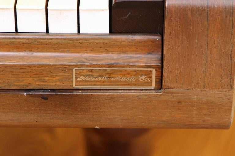 85 Key Antique Steinway Grand Piano, circa 1873 In Good Condition For Sale In Bridgeport, CT