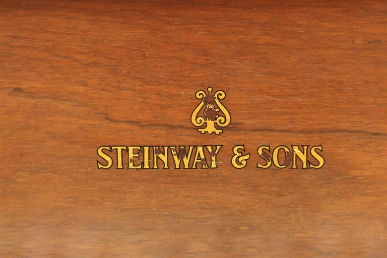 85 Key Antique Steinway Grand Piano, circa 1873 For Sale 2