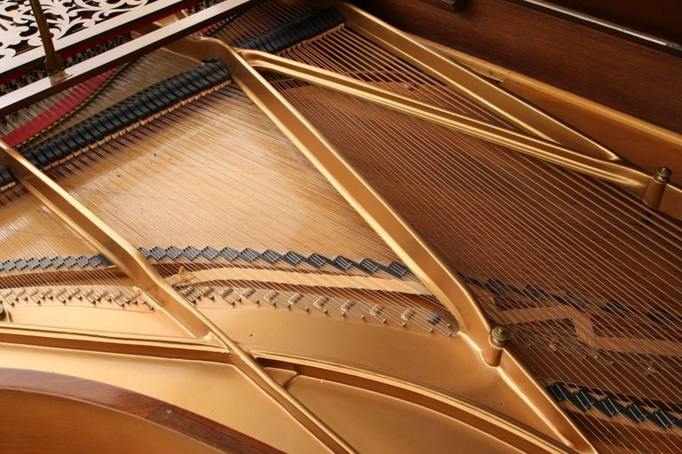 American Classical 85 Key Antique Steinway Grand Piano, circa 1873 For Sale