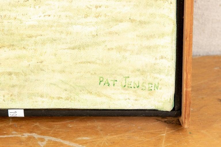 Pat Jensen Oil on Canvas,