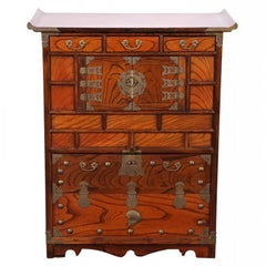 Antique Korean Tansu Cabinet