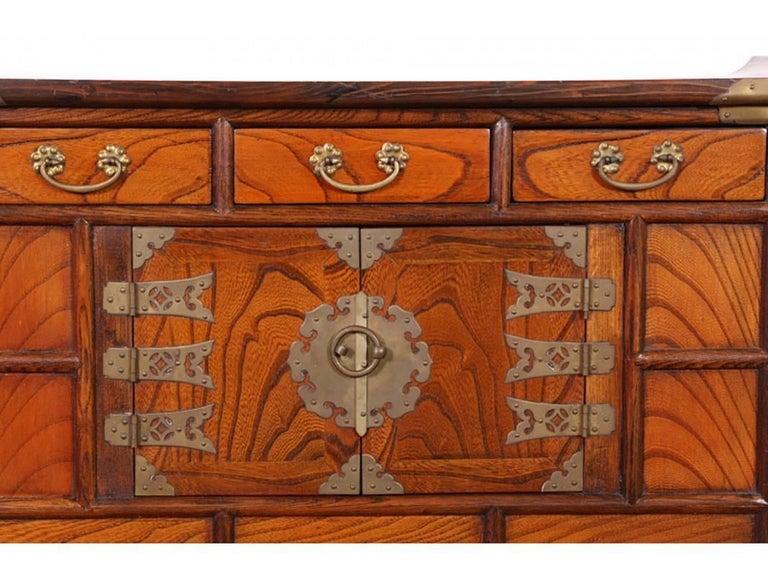 Meiji Antique Korean Tansu Cabinet