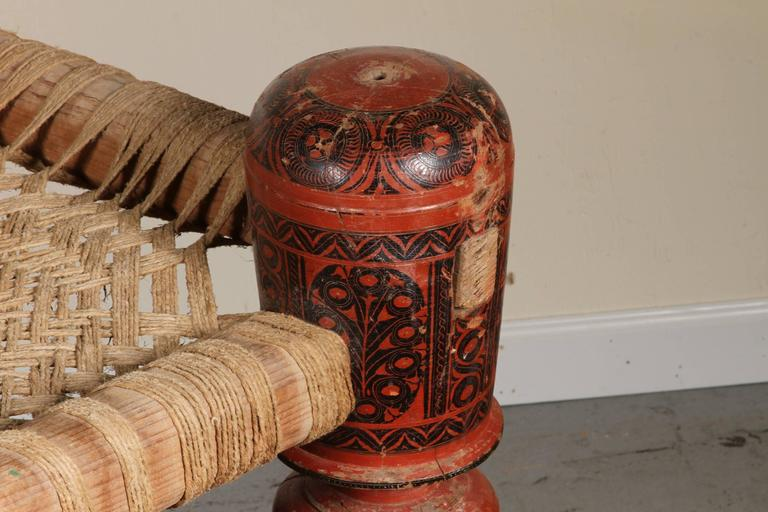 Antique Bed: Antique Indian Rope Bed At 1stdibs