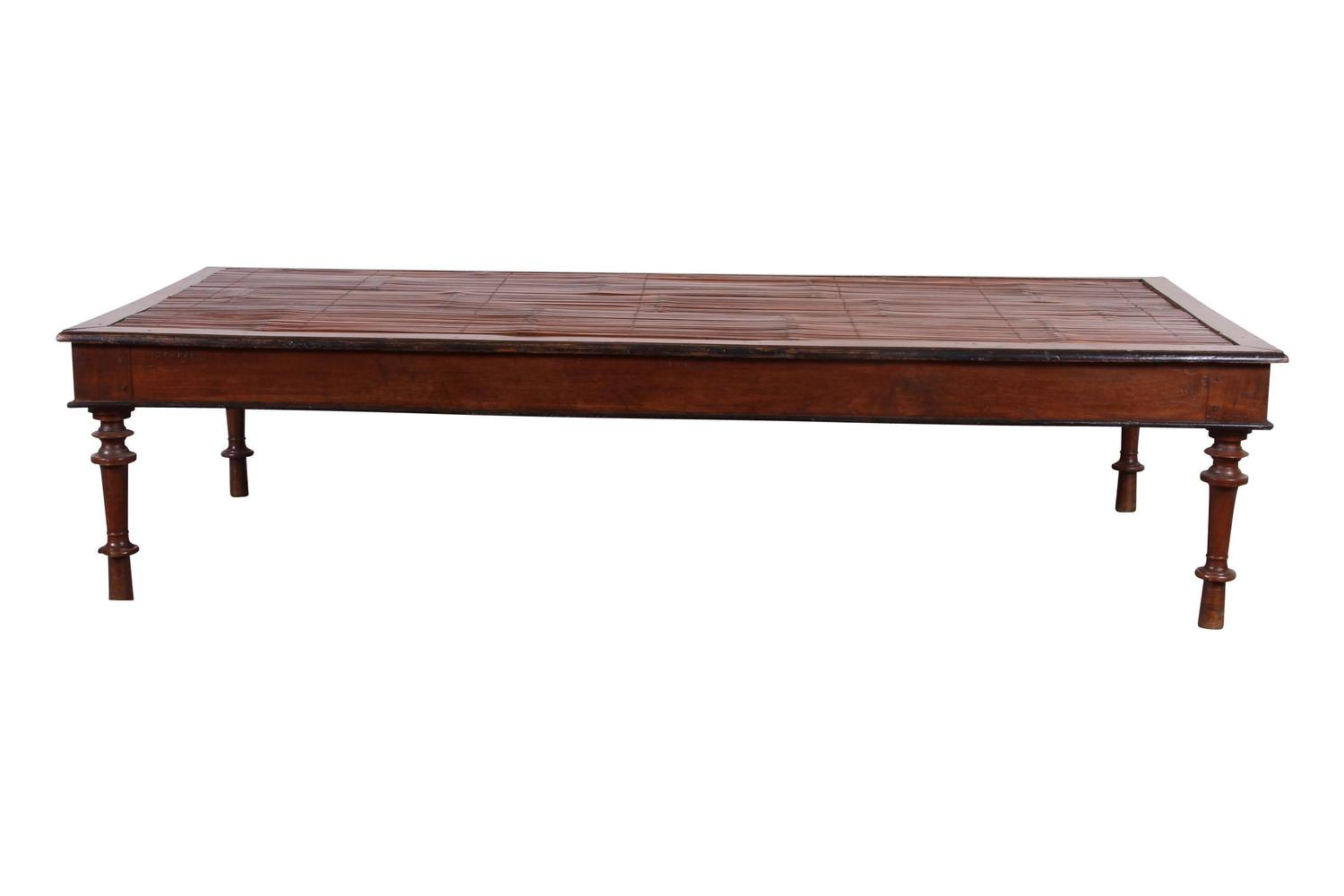 Antique British Colonial Mahogany Bed For Sale At 1stdibs