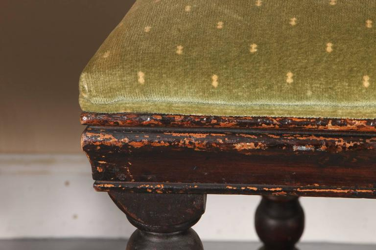 Set Of Four Early 18th Century Jacobean Side Chairs At 1stdibs