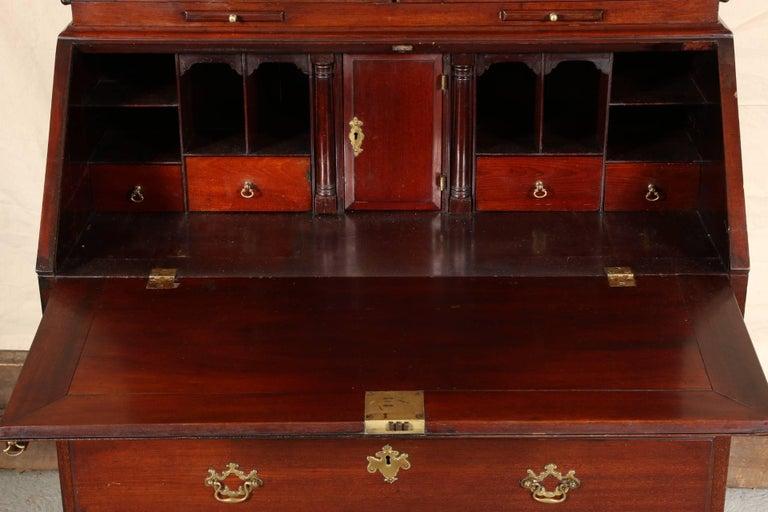 Fine Antique Mahogany Secretary Bookcase For Sale 4 - Fine Antique Mahogany Secretary Bookcase For Sale At 1stdibs