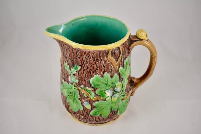 Thomas Minton English Staffordshire Majolica Rustic Oak