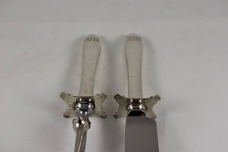 S Kirk And Son Sterling Silver Wadefield Pattern Carving