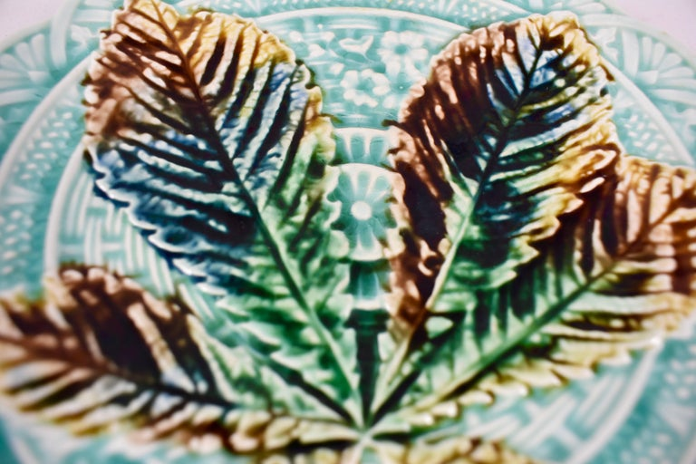 Villeroy And Boch Japonisme Aesthetic Chestnut Tree Leaf