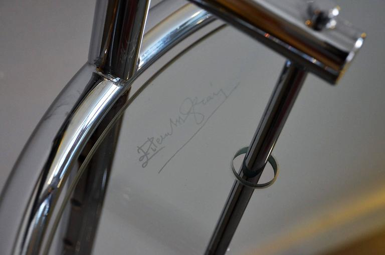 Vintage Original Adjustable Table E 1027 Eileen Gray