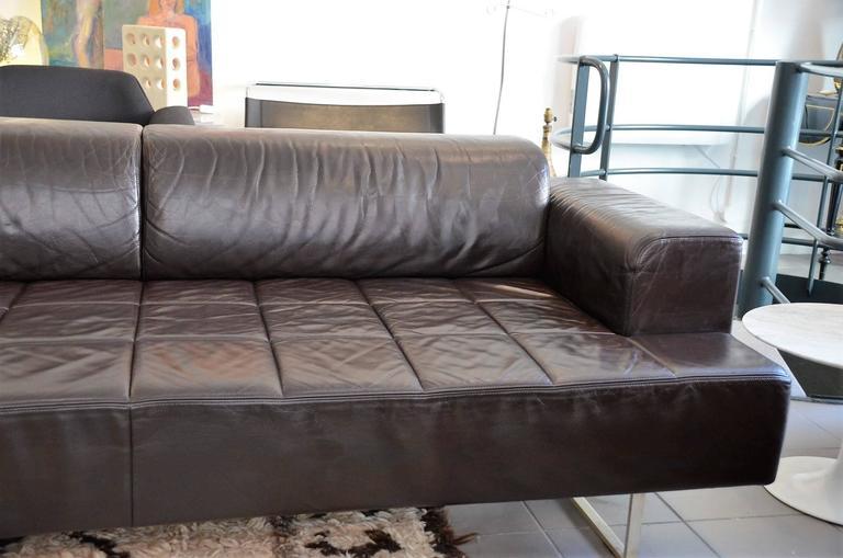 Studio cerri and associati sofa 39 quadra 39 for poltrona frau for Poltrona studio