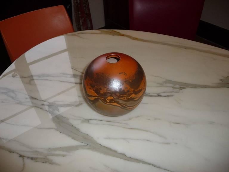 Ceramic Vase by Jean Grison, Samian Earth 2