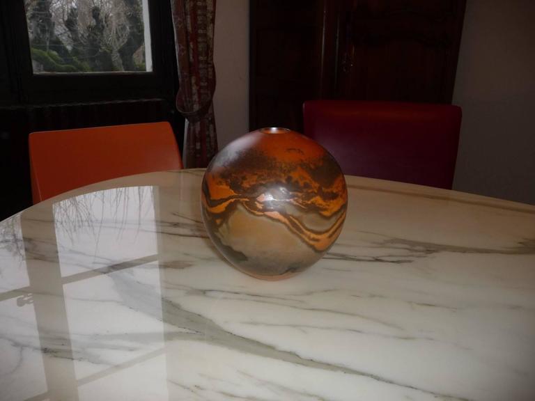 Ceramic Vase by Jean Grison, Samian Earth 6