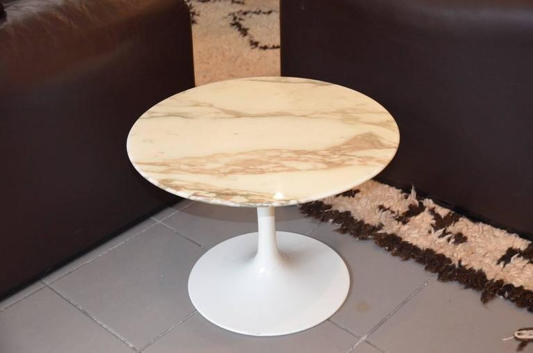 Eero Saarinen Gueridon End Table Coffee Table Knoll Tulip At 1stdibs