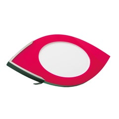Contemporary Large Picture  Frame in Fuchsia and White Plexiglass, Vision