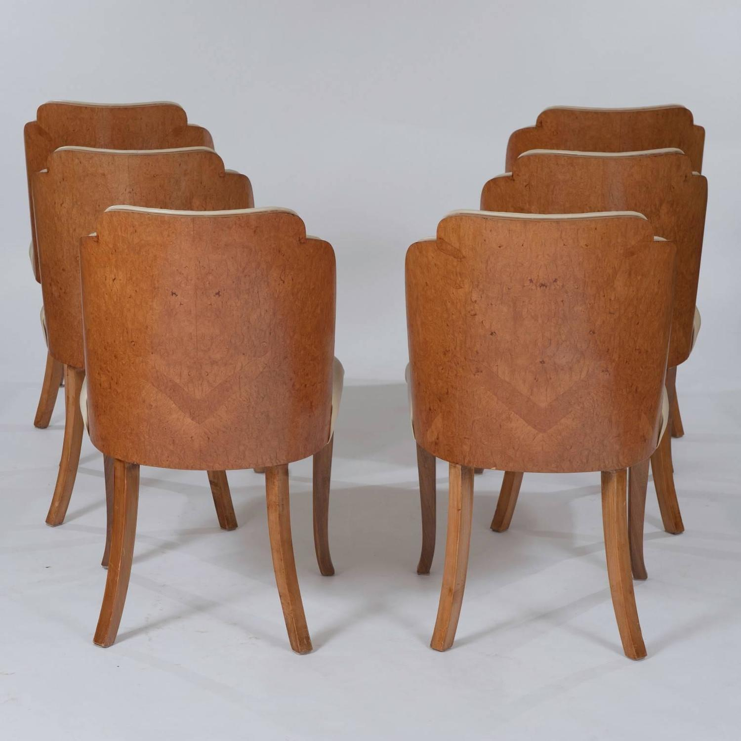 Epstein Burr Maple Dining Set For Sale At 1stdibs