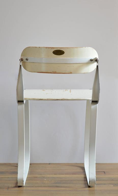 """American Herman Sperlich """"Health Chair"""" for Ironrite Corporation, 1938 For Sale"""