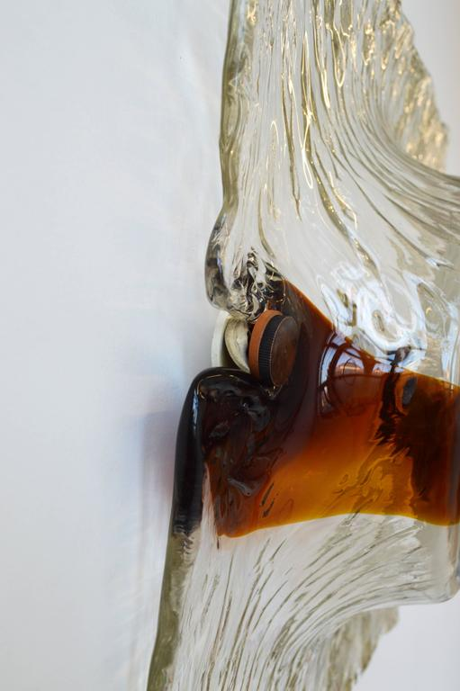 Murano Glass Sconce by Toni Zuccheri For Sale 1