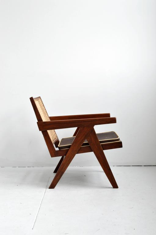 Pair of Pierre Jeanneret Armchairs 6