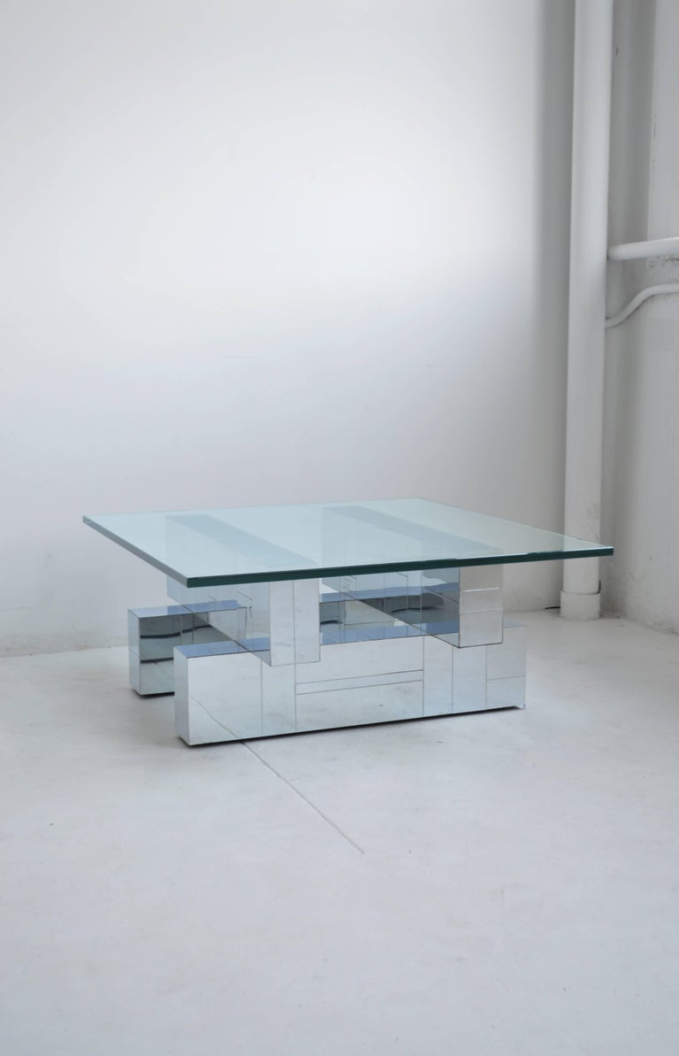 Mid-Century Modern Vintage Paul Evans 'Cityscape' Coffee Table, Mid-Century, American For Sale
