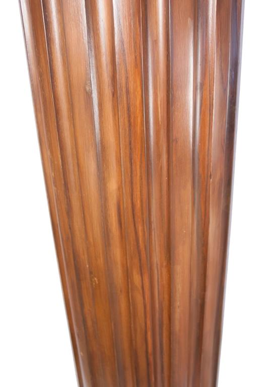 20th Century Pair of British Colonial Teak Wood Columns For Sale