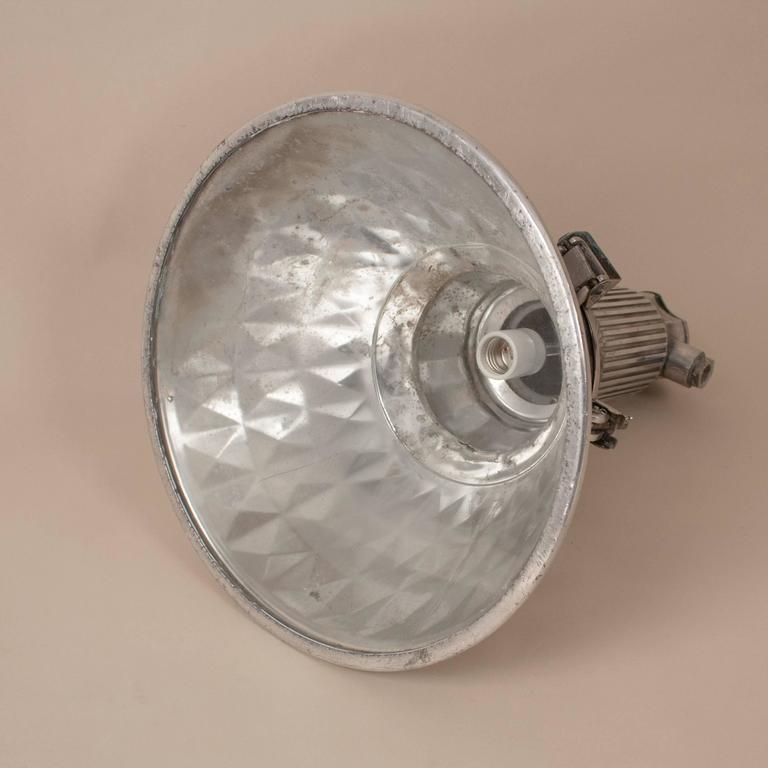 Pressed Aluminum Industrial Pendant Light For Sale 1