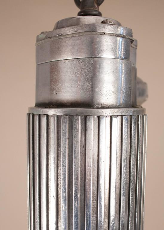 Pressed Aluminum Industrial Pendant Light For Sale 3