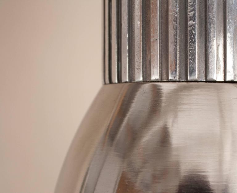 Pressed Aluminum Industrial Pendant Light For Sale 2