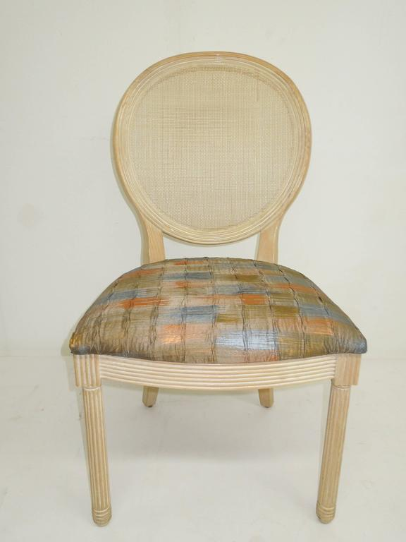 set of four jay spectre dining chairs for century furniture at 1stdibs