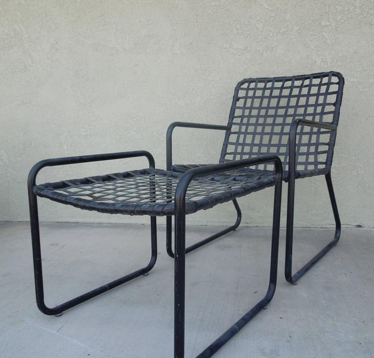 Vintage Four Piece Set Of Brown Jordan Patio Furniture At 1stdibs