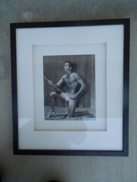 Mid-Century Modern Original Mid-Century Male Beefcake Photos by Bruce Bellas Aka Bruce of LA For Sale
