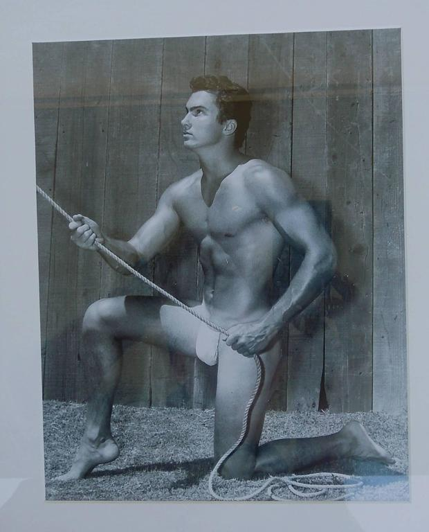 Original Mid-Century Male Beefcake Photos by Bruce Bellas Aka Bruce of LA For Sale 3