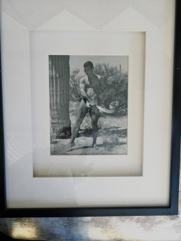 Rare Matched Pair of Bruce Bellas Male Physique Vintage Palm Springs Photographs 2