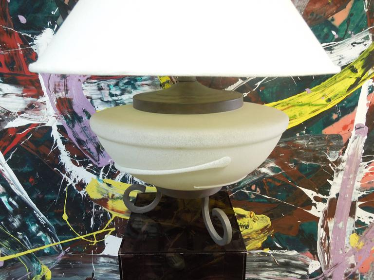 American 1980s Modern Large Living Room Lamp from Palm Springs Architect For Sale