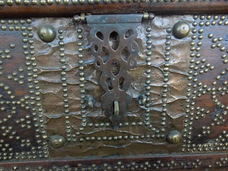 Pair of Celebrity Owned Rare 19th Century Zanzibar Chests, Nightstands 3