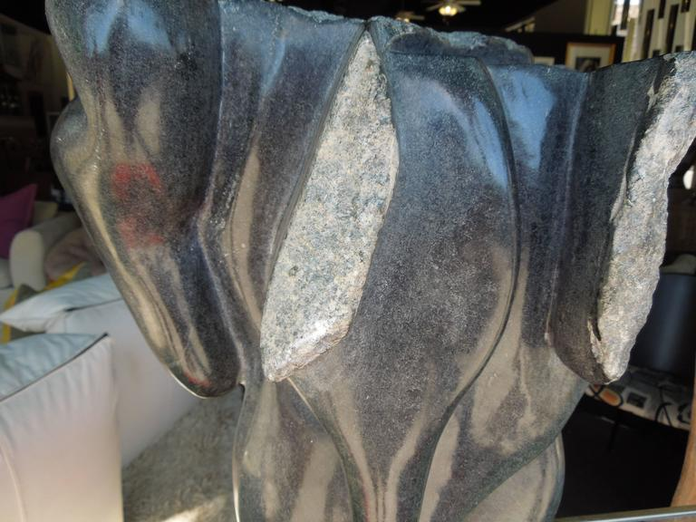 20th Century Modern Abstract Marble Sculpture 3
