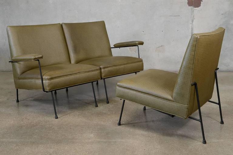 20th Century Milo Baughman for Pacific Iron Modular Sofa For Sale