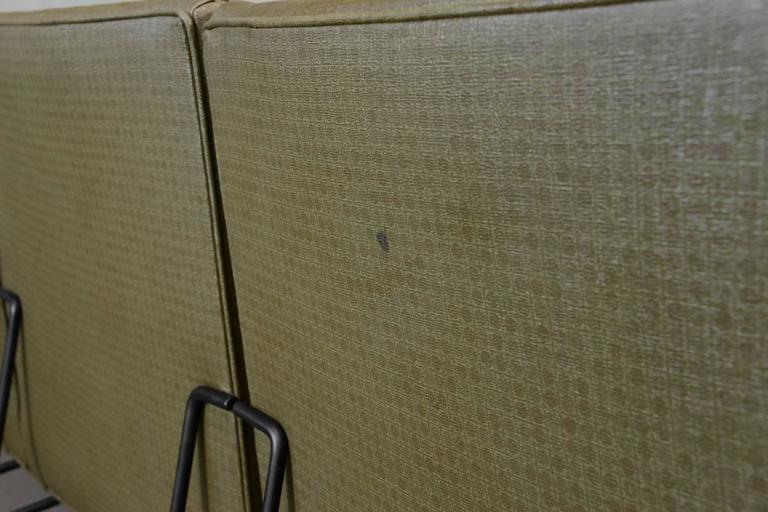 Milo Baughman for Pacific Iron Modular Sofa For Sale 2