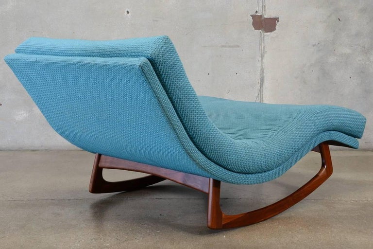 Adrian pearsall rocking chaise longue at 1stdibs for Big and tall chaise lounge