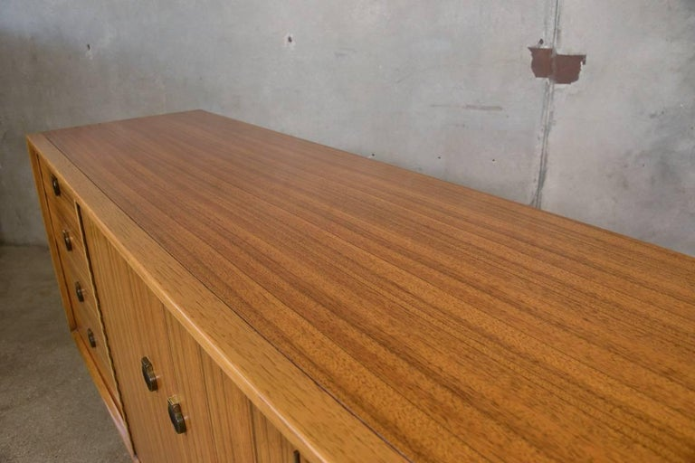 Mahogany and Brass 12-Drawer Dresser For Sale 1