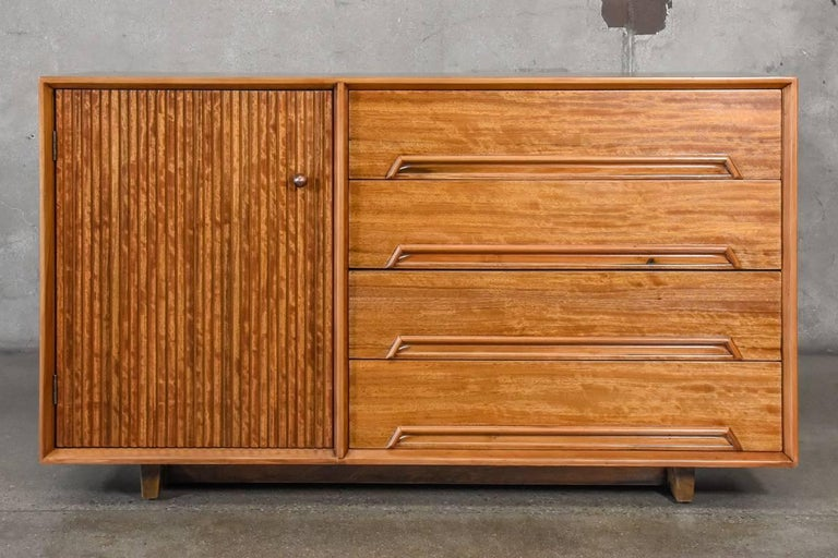 Drexel Perspective Credenza by Milo Baughman For Sale 1
