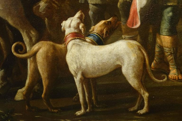 Jacob Returns to Canaan, Oil on Canvas Attributed to Charles Amedée Van Loo For Sale 2