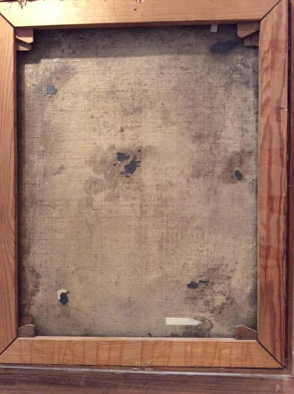 Early 17th Century Italian School Portrait of a Clergyman, Modern Frame For Sale 3